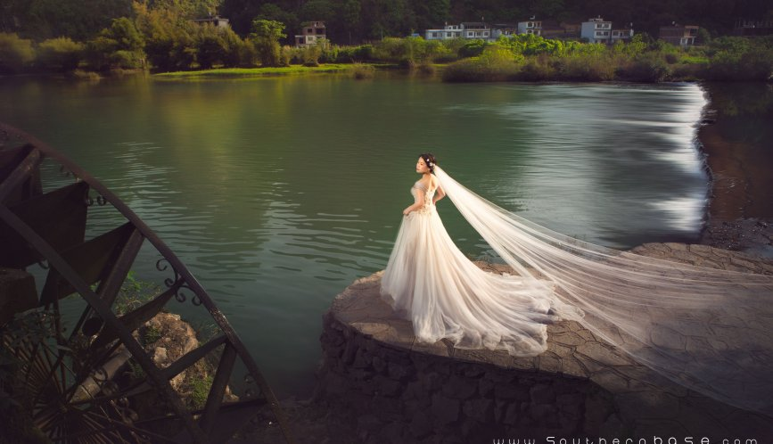 The first time I took wedding photos at China