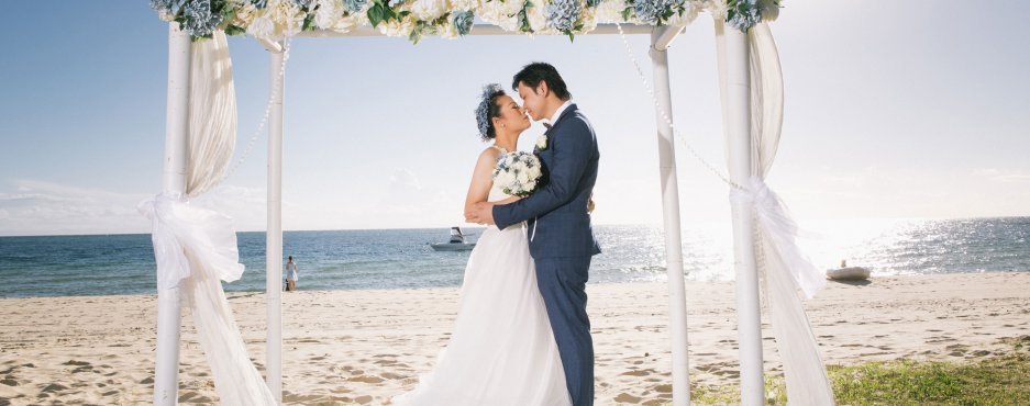 Wedding at Moreton Island